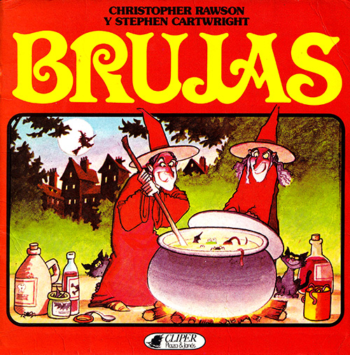 Libros Cliper de Relatos tradicionales Brujas