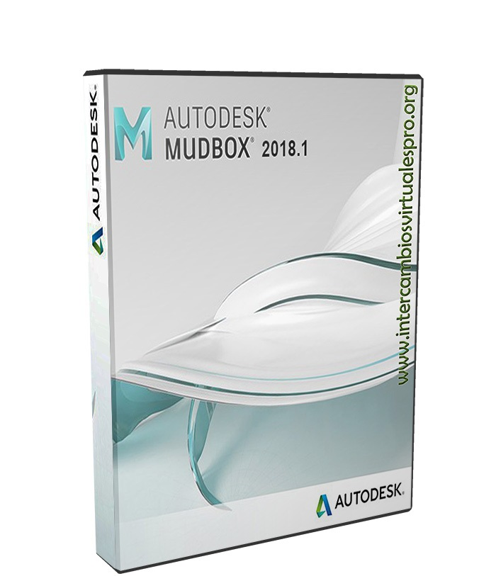 Autodesk Mudbox 2018.1 poster box cover