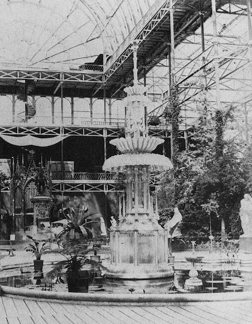 The Glass Fountain at the Crystal Palace, 1851, Philip Henry Delamotte