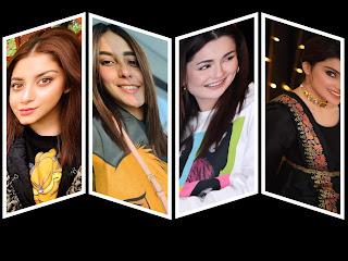 Top 5 most Searched Pakistani Showbiz Celebrities