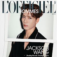 Jackson Wang para L'Officiel Hommes USA por Huang Jiaqi