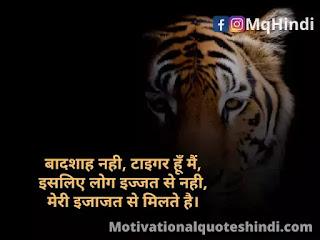 Tiger Status In Hindi