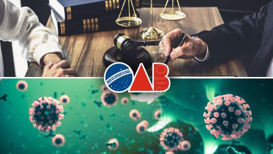oab medidas auxiliar advocacia pandemia covid