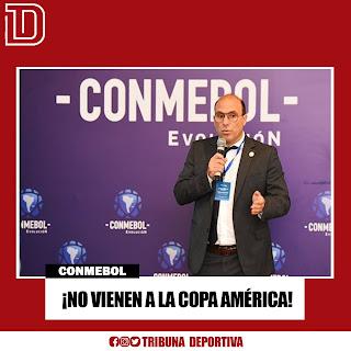 ¡NO VIENEN A LA COPA AMÉRICA!