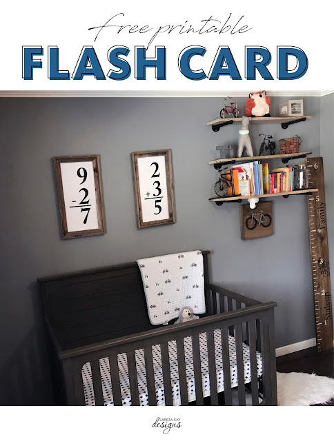 Flash Card Wall Art Free Printable