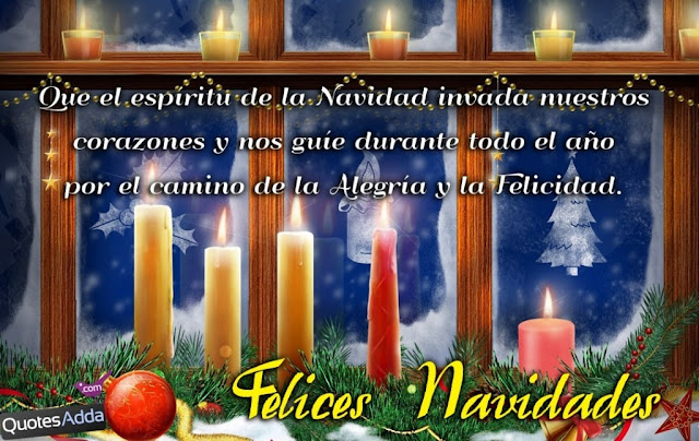 Felices Navidades - Merry Christmas Wishes in Spanish