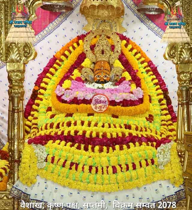 khatu shyamji morning darshan 3 may 2021