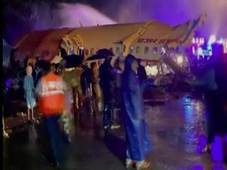 Aircraft accident in Kerala, pilot killed, 180 passengers aboard flight
