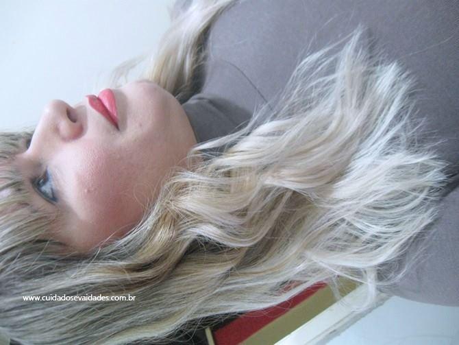 Antes e depois Máscara Matizador Safe Blond MacPaul