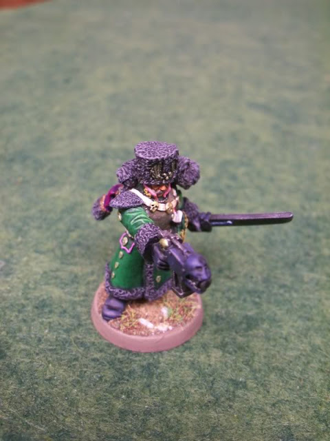 Renegade Imperial Guard astra militarum company Officer