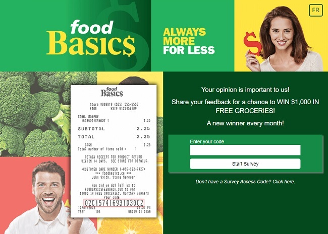 foodbasics ca win free groceries