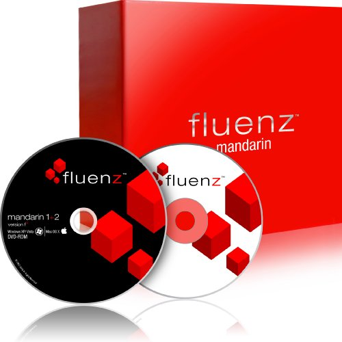 Fluenz Mandarin 1+2 with supplemental Audio CD and Podcasts