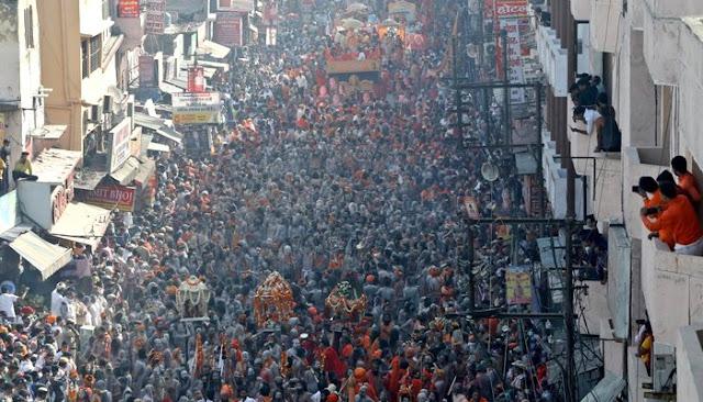 India: Violation of Corona SOPs at Kumbh Mela, One Thousand Pilgrims in Corona