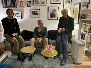 Carlos Castán, Laura Riñón y Ernesto Calabuig