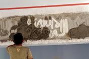 Kaligrafi Islam, Karya Satgas TMMD Ke 111 Hiasi Masjid Tola