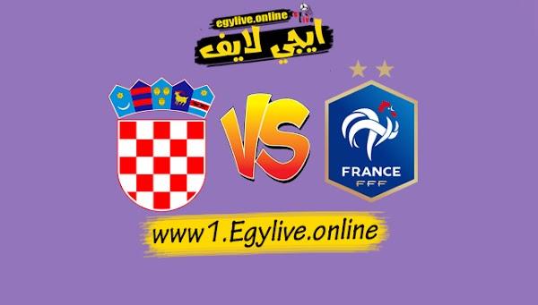 نتيجة مباراة فرنسا وكرواتيا اليوم بتاريخ 14-10-2020 في دوري الأمم الأوروبية