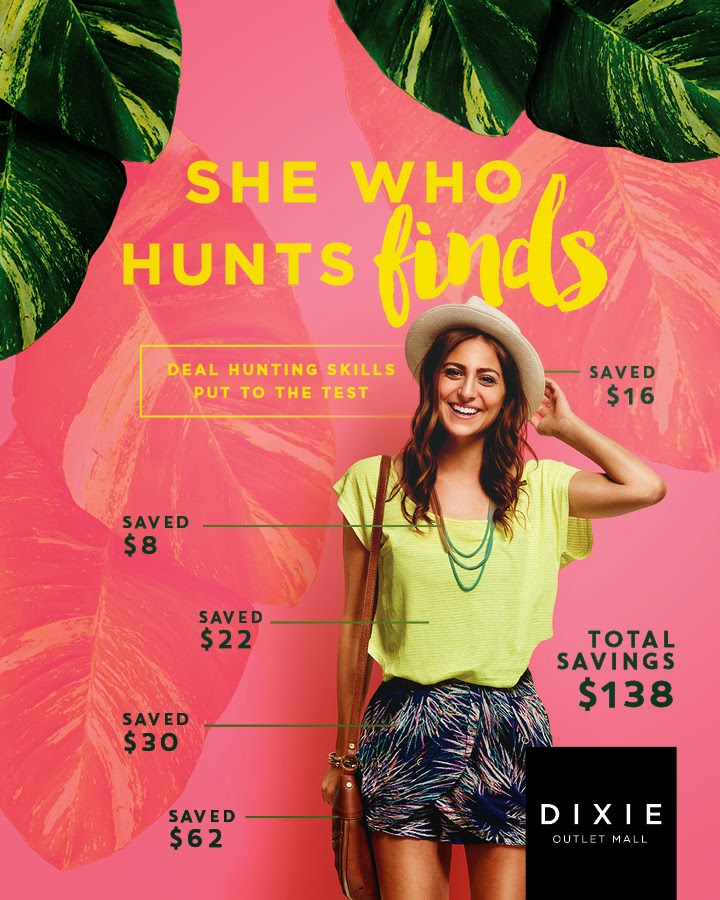 """She Who Hunts Finds"" Blogger Challenge #DixieDeals"