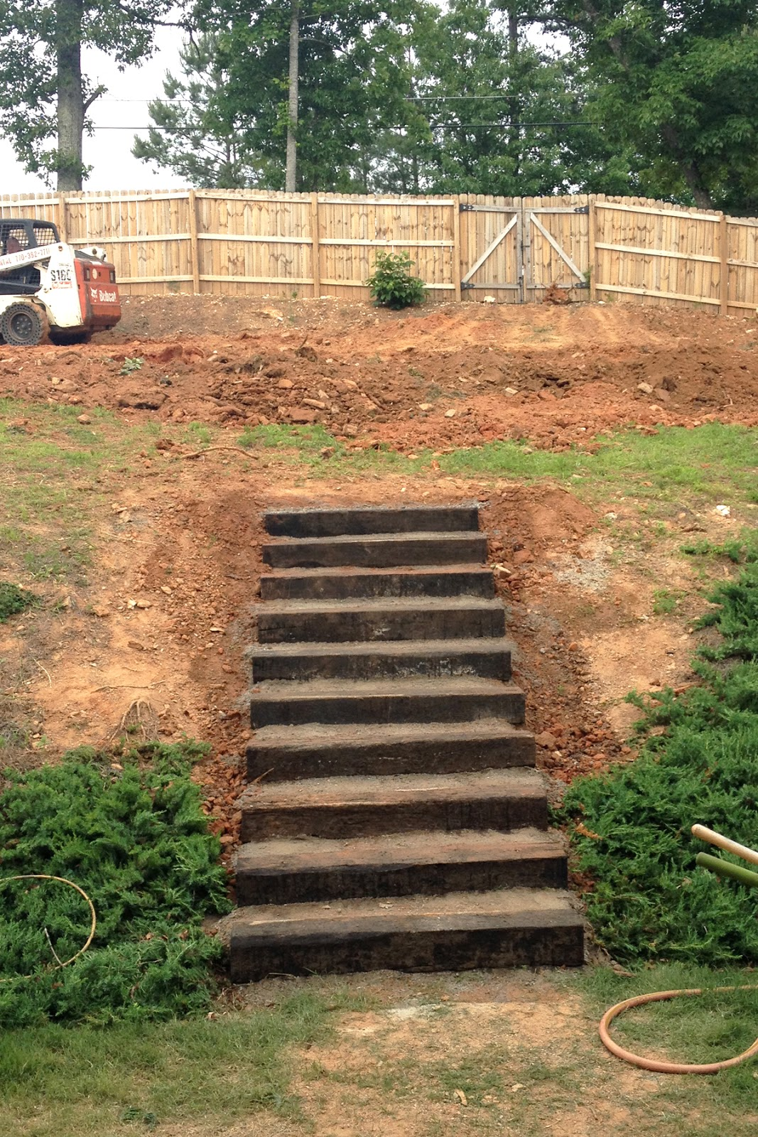 The Counting Courseys: outdoor stairs update on Backyard Stairs Ideas id=43119