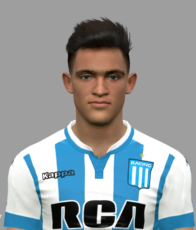 PES 2017 Lautaro Martinez (Racing Club) Face by DanielValencia