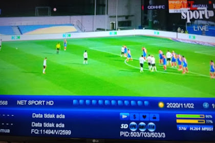 NET SPORTS HD - Live CSL on G-SAT 9 - Free to air