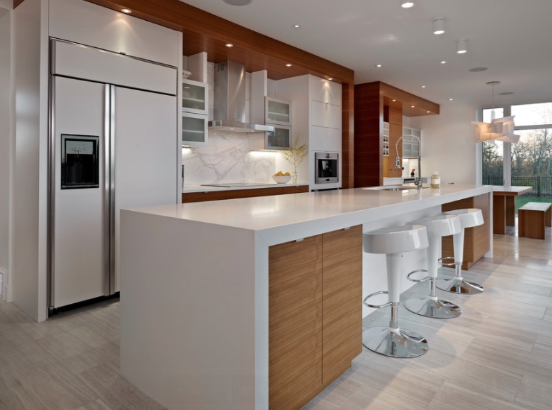 Wrapped Kitchen Countertops