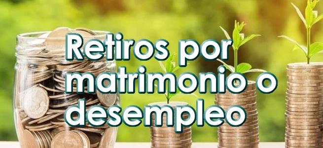 Retiro de dinero en Afore por Matrimonio y Desempleo