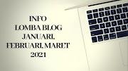 Info Lomba Blog Januari, Februari, Maret 2021