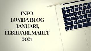 Info lomba blog 2021