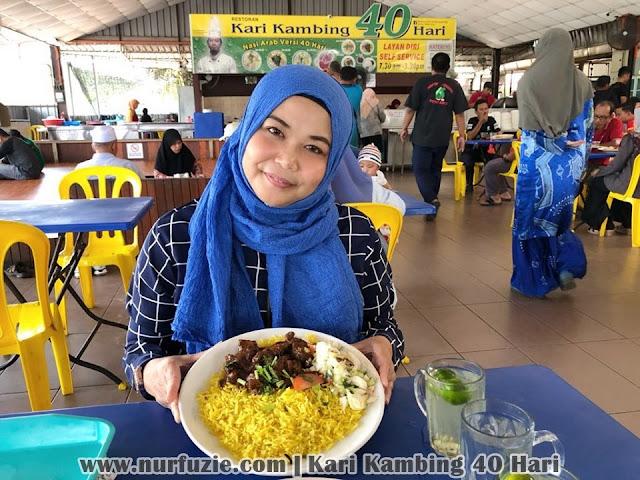 Teringat Ingat Nasi Arab Restoran Kari Kambing 40 Hari Di Johor