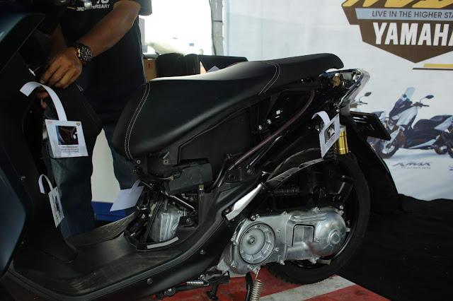 Bedah Yamaha LEXi di maxiday2019palembang