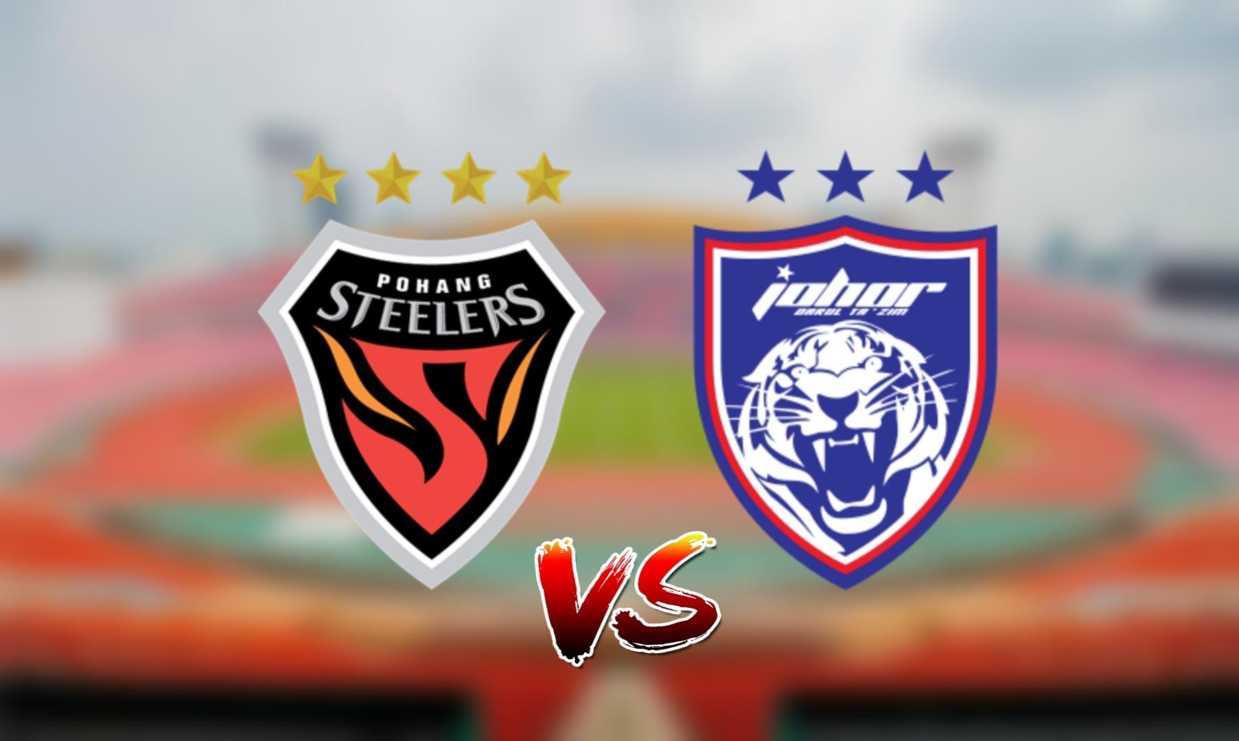 Live Streaming Pohang Steelers vs JDT FC ACL 28 Jun 2021