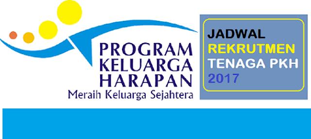 Kementerian Sosial Republik Indonesia akan melaksanakan rekrutmen calon pendamping Program Keluarga Harapan (PKH) untuk ditempat di sejumlah wilayah Indonesia. Jadwal pelaksaaan rekrutmen pendamping PKH direncanakan pada bulan Oktober 2017 melalui aplikasi online atau situs online.