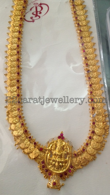 Lakshmi Kasumalai Gallery With Ruby S Jewellery Designs