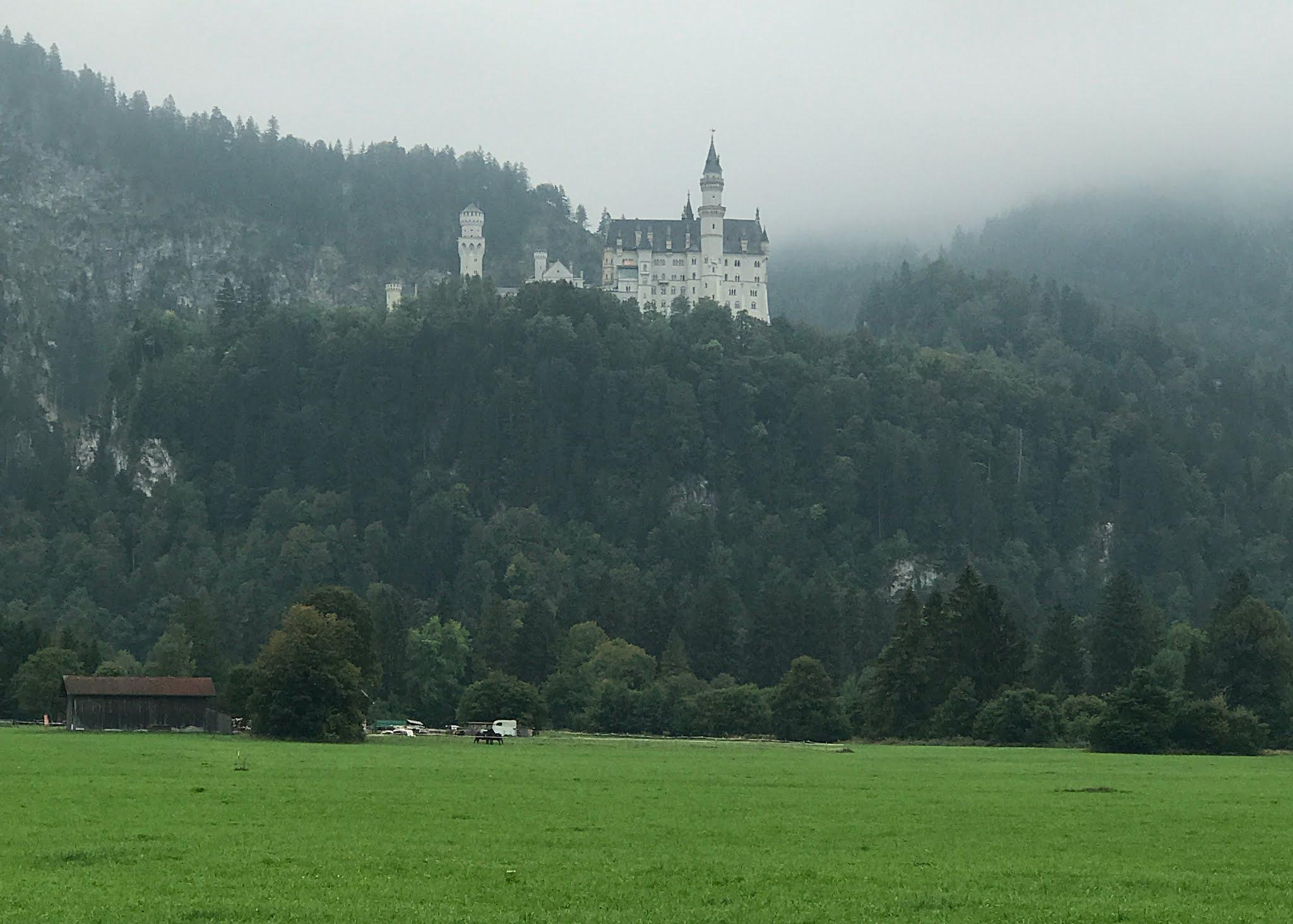 Zamki w Bawarii