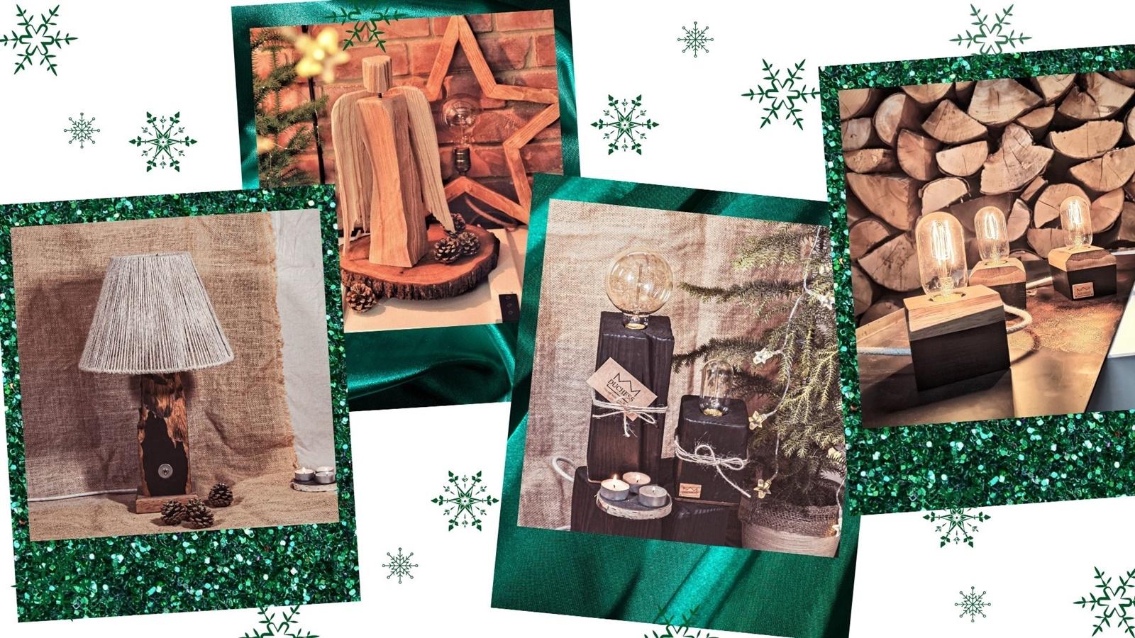 1 duchess drewniane lampy ozdoby lampki zegary handmade pomysł na prezent dla taty dziadka mamy babci co kupić na gwiazde boże narodzenie niebanalne pomyslowe prezenty