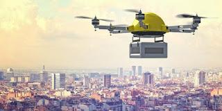drone buatan google untuk mengirimkan barang