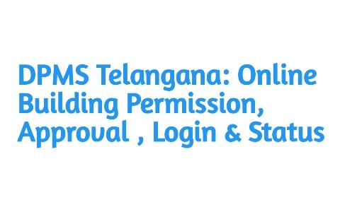 DPMS Telangana