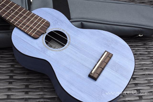 Martin OX Bamboo Soprano Ukulele body