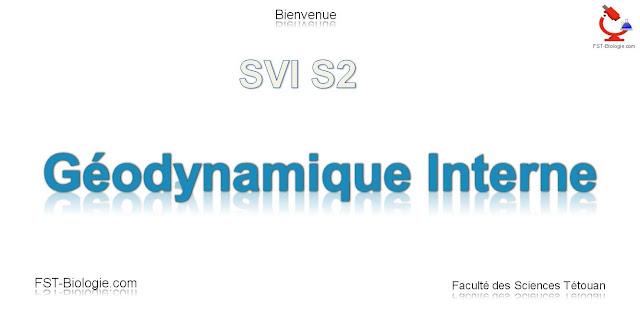 Cours de Géodynamique interne SVT S2 pdf