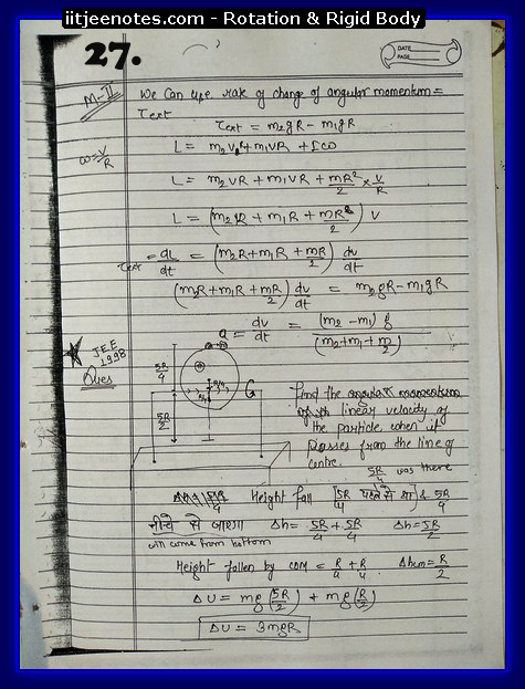 rotational notes2