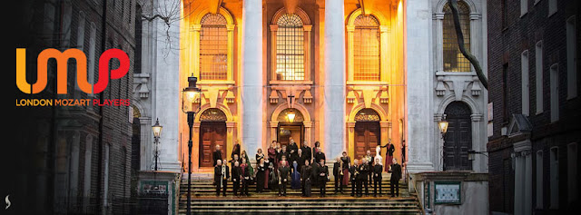 London Mozart Players outside St John's Smith Square