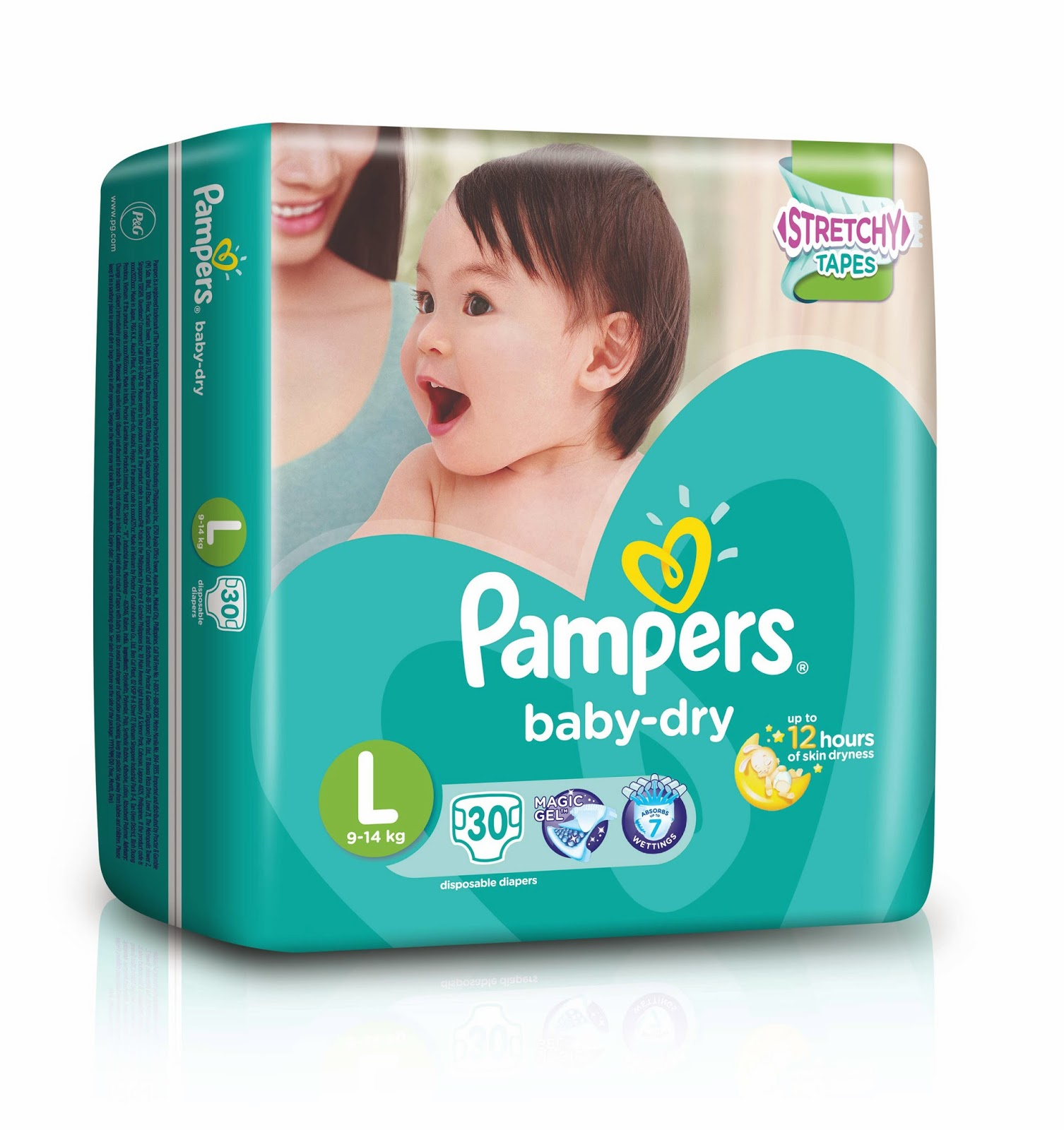 Celebrate Firstswithpampers With New Pampers Baby Dry And