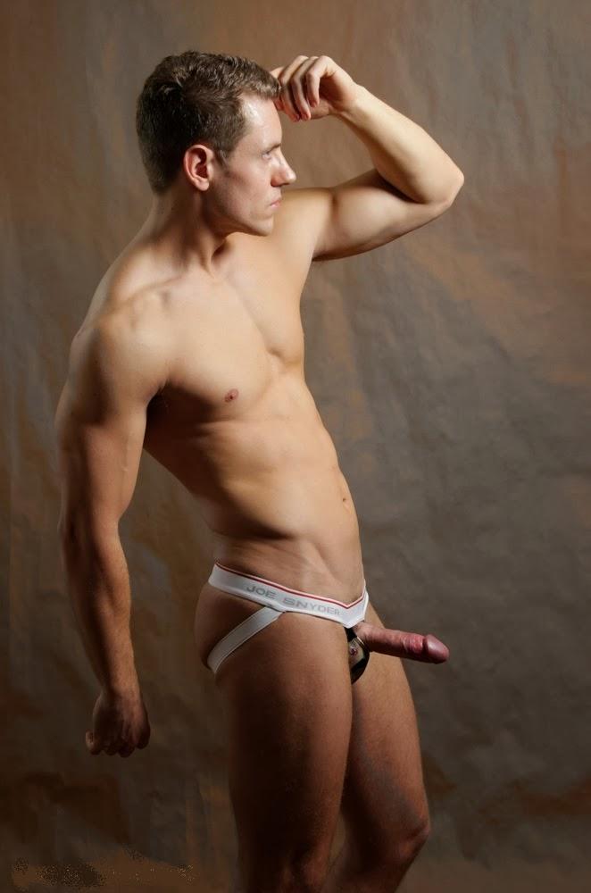 Naked jockstraps