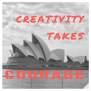 Creativity takes courage - Sydney Opera House - Hannah Davison - writer