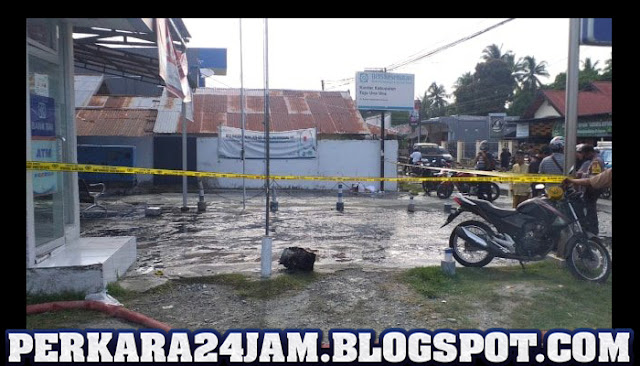 Pihak Polisi Tangkap Pria Misterius Pelempar Bom Di BRI Ampana