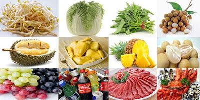 Pantangan Makanan Kista Payudara