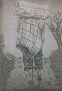 Campesino, pintor Jorge A. Marín