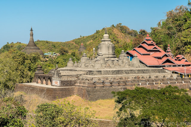 Temple Shittaung - Mrauk-U - Myanmar Birmanie