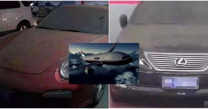 Dua Buah Kereta Berdebu Di 'Parking' Selama 6 Tahun Terjawab, Dipercayai Milik Penumpang MH370