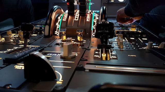 Manchester UK Flight Simulator Review pilots controls